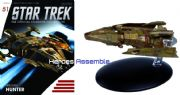 Star Trek Official Starships Collection #051 Hirogen Hunter Eaglemoss